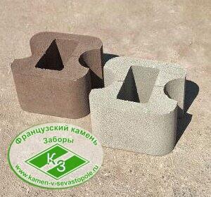 Блок колонный проходной