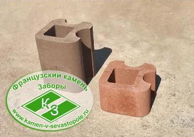 Блок колонный угловой